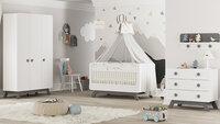 Baby Cute Gri Bebek Odası - Thumbnail