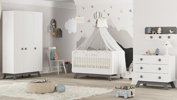 - Baby Cute Gri Bebek Odası