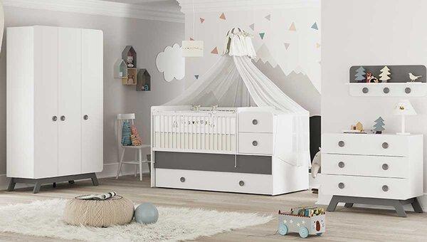 Baby Cute Gri Bebek Odası